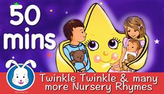 Twinkle Twinkle Little Star & more Nursery Rhymes with lyrics. We've got all the song lyrics so you can sing along with your little baby, toddler & young kid. Nursery Video, Compilation Videos, Twinkle Twinkle Little Star, Nursery Rhymes, Little Babies, Singing, Songs, Education, Kids