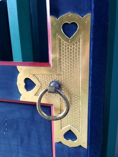 Found the shape of heart on the door as a gate for the shrine in Tokyo