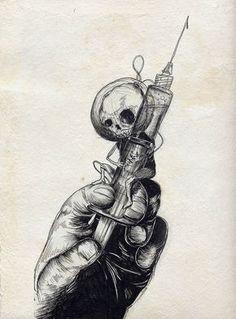 ideas for dark art drawings sketches death Dark Art Drawings, Cool Drawings, Drawing Sketches, Tumblr Sketches, Skull Drawings, Drawing Art, Arte Horror, Horror Art, Pinterest Arte