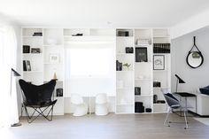 Shelving, Divider, Room, Furniture, Home Decor, Style, Shelves, Bedroom, Swag