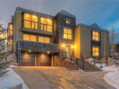 24 Spring Willow Pl Sw, Calgary Property Listing Steel Trusses, Spa Rooms, Property Listing, Open Concept, Luxury Living, Calgary, Dining Area, Master Suite, Mansions