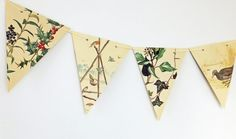 This lovely Christmas bunting makes a great Christmas decoration. £12