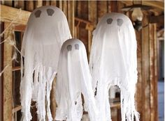 cheese cloth ghost homemade halloween decorations halloween pinterest homemade halloween decorations cheese cloth and homemade halloween - Cheesecloth Halloween Decorations
