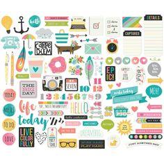 Simple Stories Carpe Diem Planners & Accessories