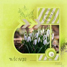 Grafika, digiscrapbooking...: Wiosna ....