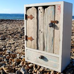 Driftwood cabinet