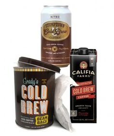 We surveyed the field to find the best new options in the cold brew universe; here are three buzz-worthy innovations.