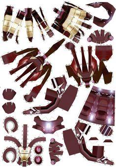 3d Paper Crafts, Paper Toys, Diy And Crafts, Cardboard Model, Diy Cardboard, How To Make Iron, Iron Man Wallpaper, Iron Man Armor, Diy For Men