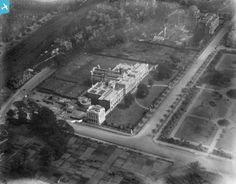 View of Cathays Park, Cardiff. 1923.