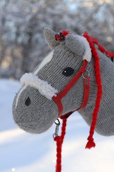 Iisan talli Stick Horses, Horse Party, Sock Toys, Easter 2021, Crochet Teddy, Hobby Horse, Knitted Animals, Crafts For Boys, Craft Activities