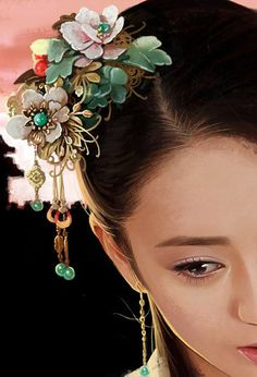 @PinFantasy - Chinese art ~~~ For more: - ✯ http://www.pinterest.com/PinFantasy/arte-~-la-mujer-en-el-arte-chino-women-in-chinese-/