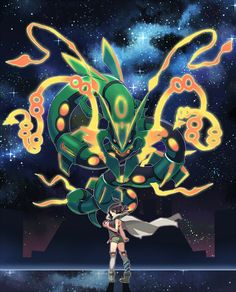 Pokemon M Spacenoddle Smash that like button for the noodle and Zinnia! Pokemon Mew, Rayquaza Pokemon, Mega Rayquaza, Pokemon Omega Ruby, Mega Pokemon, Pokemon Fan Art, Charizard, Pokemon Cards, Pikachu