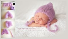 Newborn Pixie Hat Tutorial | Trying to Knit