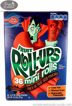 Sometimes Foodie Reviews: Mini Strawberry Fruit Roll-Ups