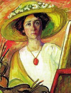 Gabriele Münter (German, 1877–1962) - Self Portrait,  1909