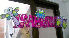AMBIENTES INFANTILES Baby Name Signs, Baby Names, Ideas Para, Spring, Home Decor, Gardens, Environment, The World, Preschool Alphabet