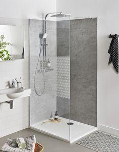 41 Impressive Bathroom Shower Remodel Ideas - Page 40 of 41 - Afshin Decor Cheap Bathroom Remodel, Cheap Bathrooms, Shower Remodel, Bathroom Design Small, Modern Bathroom, Master Bathroom, Bathroom Ideas, Colorful Bathroom, Bathroom Showers