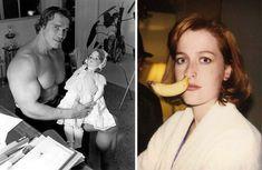 Старые фотографии знаменитостей, которые вы еще не видели (31 фото)