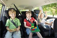 Damit jedes Kind sicher im Auto unterwegs ist, kommt es auf den passenden Kindersitz an