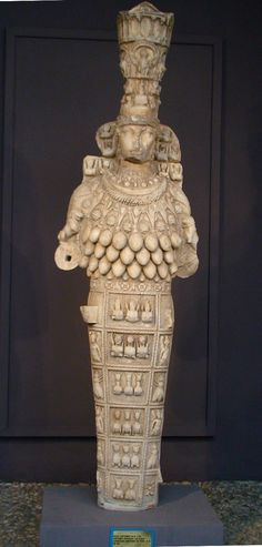 Artemis of Ephesus was a big wheel in cult circles. Perhaps some of her icons remaining today were made by the very men who rioted at Paul's preaching. http://watchmepaint.blogspot.com/2013/11/great-is-artemis-of-ephesians.html