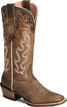 Love these boots :) SO cute and comfy! Ariat Crossfire Caliente Cowgirl Boot - Wide Square Toe