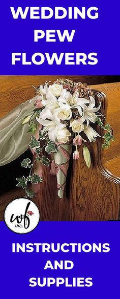 Pew Decoration - DIY Wedding and Flower Ideas for the Church Wedding Pew Decorations, Wedding Pews, Flower Decorations, Diy Wedding, Wedding Flowers, Candelabra Flowers, Church Pews, Reception Backdrop, Altar Flowers