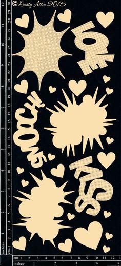 Love, Kiss, Smooch - The Dusty Attic