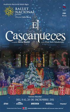 AFICHE EL CASCANUECES, 2011