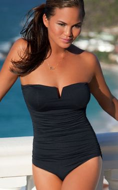 Black One Piece Swimsuit - The LBD of swimsuits