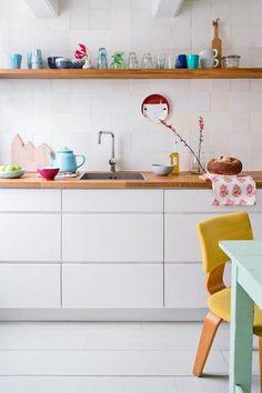 JJ Merel interior - Blanc et couleurs vives pour cet intérieur
