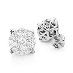 Diamond Earrings >>> Click on the image for additional details.