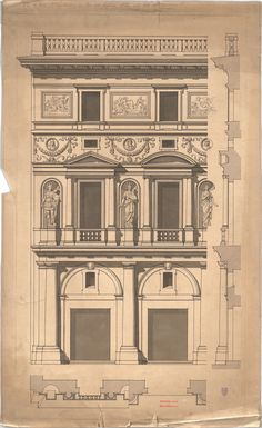sp-arqtec:    Architekt:Hofmann, TheobaldProjekt:Palazzo dell Aquila, Bauaufnahme