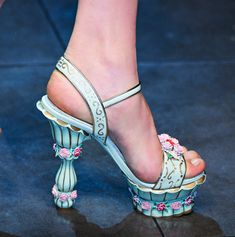 Dolce & Gabbana Fall 2012 - Can't wear them, but I'd love to have a pair just to sit on the coffee table! Love the colors!