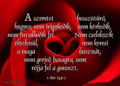 Idézet a szeretethimnuszból Biblical Quotes, Coca Cola, Soda, Beverages, Coke, Drink, Soft Drink, Bible Quotes