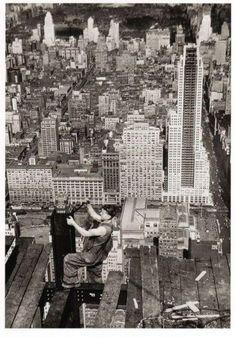 Empire state building - travailleur 2