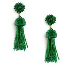 Emerald Fireburst Tiered Drop Earrings – Tuckernuck