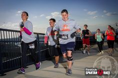 Keep it up, #Spartans!  Get to the top! #ReebokSpartanCitiField #SpartanRace #SpartanSprint #CitiField