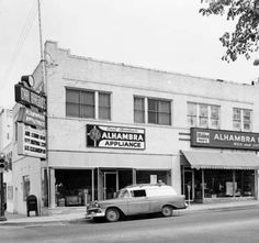 Alhambra Appliance and Hardware Store 15th and Peoria Tulsa OK April 7 1959