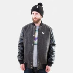 Welcome to Deys, a independent Norwegian clothing company. We´re a clothing and lifestlye company with a great future. Charcoal, Bomber Jacket, College, Sweaters, Jackets, Fashion, Down Jackets, Moda, University