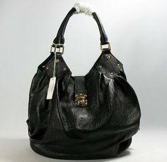 …•…  Fashion Lv Cow Leather Mahina Handbag M95548 Black #Louis #Vuitton #Handbags #Black $331 ,❤❤♥ For sale now...check it out!!! ~~~~(>_<)~~~~