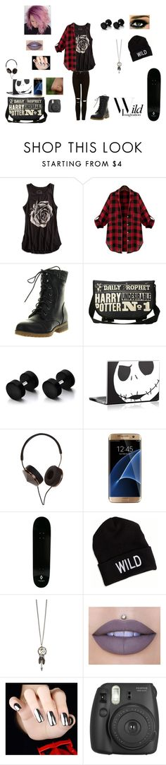 """""""Untitled #62"""" by juliab3638 on Polyvore featuring Lucky Brand, Refresh, Frends, Samsung, County Of Milan, American Eagle Outfitters, Jeffree Star and Fujifilm"""