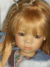 Annette Himstedt Puppe Lena ,Zertifikat, OVP