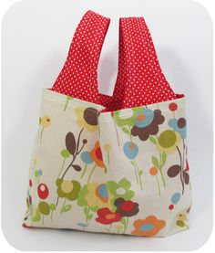 New & Improved Grocery Bag Pattern - 3 Sizes!