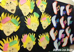Step into Grade with Mrs. Lemons: Division, Prepositions, and Robert Munsch! School Tool, School Stuff, Third Grade Writing, Teaching Language Arts, Author Studies, Prepositions, Writer Workshop, Literacy Activities, Teaching Tips
