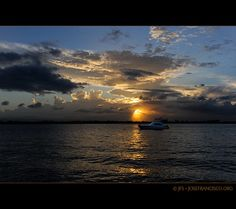 Ocaso en la Bahía de San Juan