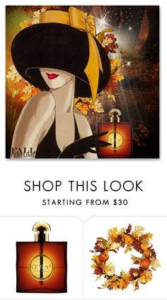 """""""Fun Fall Fragrance"""" by andrejae ❤ liked on Polyvore featuring beauty, Yves Saint Laurent and fallperfume"""