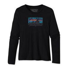 patagonia tshirt logo grunge
