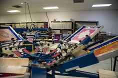 State of the art Screen Printing process