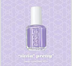 """""""Sittin""""pretty' #nailpolish #nails #neoncollection2024"""
