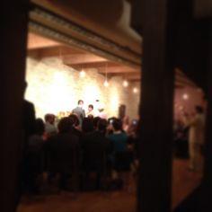 Milwaukee Wedding Ceremony at Swig www.swigmilwaukee.com